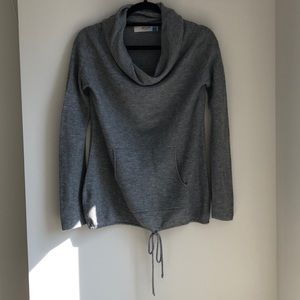 Anthropologie Sparrow Waffle Knit Cowl Sweater